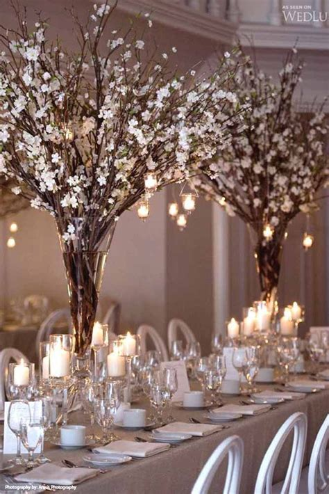 best 25 branch wedding centerpieces ideas on