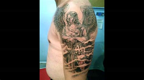 st michael the archangel tattoo youtube