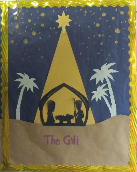 printable nativity scene for bulletin board 17 best images about spiritual bulletin boards on