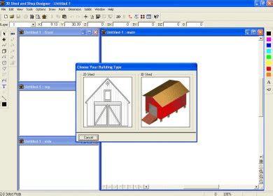 3d home design software portable 3d shed and shop designer download 3d shed shop