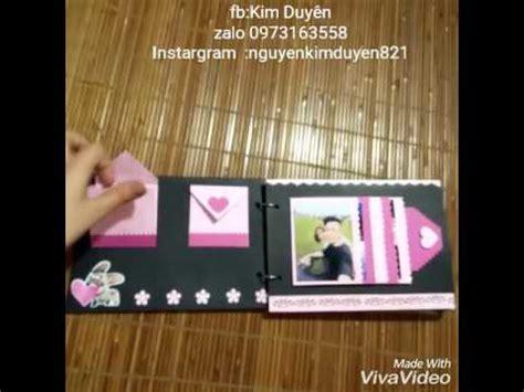 tutorial scrapbook for boyfriend mini album scrapbook handmade happy birthday boyfriend