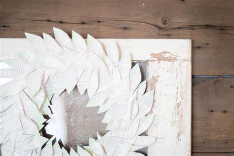 magnolia book diy magnolia style book wreath