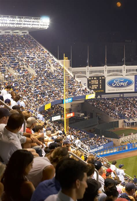 Section 4 League Ny by Yankee Stadium New York Yankees Ballpark Digest
