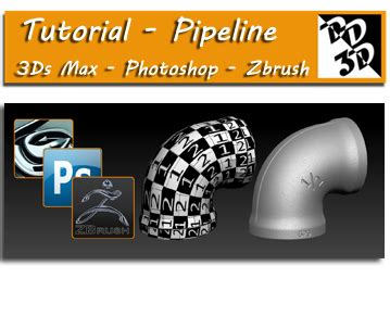 tutorial zbrush 3ds max tutorial pipeline 3ds max photoshop e zbrush epa 231 o