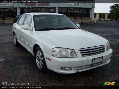 2002 Kia Optima Se 2002 Kia Optima Se In White Pearl Photo No 31207157