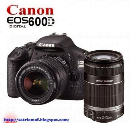 Kamera Canon 600d Dan 650d satrio moffers harga kamera canon eos 600d dan