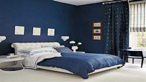 Blue Walls Bedroom Decor by Royal Blue Painted Bed Room Blue Bedrooms On Blue