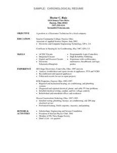 Resume Education Exles Associate S Degree Electronics Engineering Technology Degree