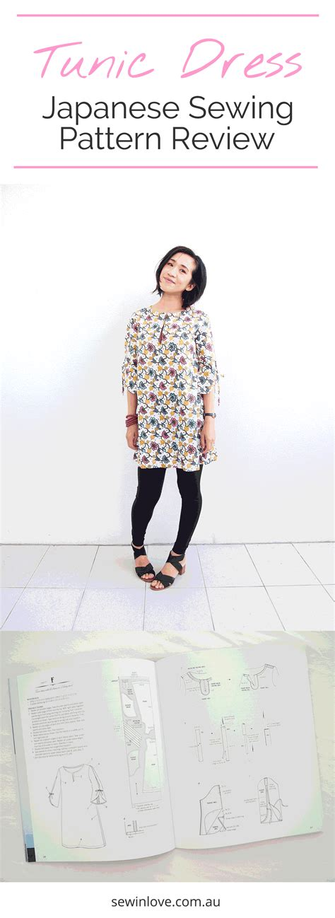 japanese pattern generator tunic dress is this the best japanese sewing pattern