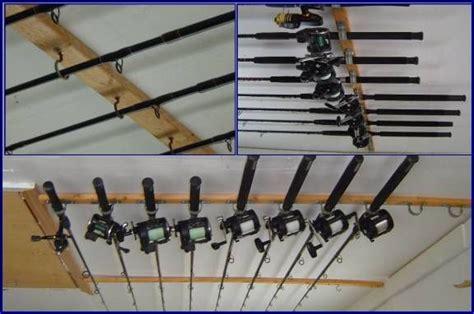 Fishing Pole Garage Storage Ideas Diy Garage Storae Ideas Diy Rod Storage For The Home