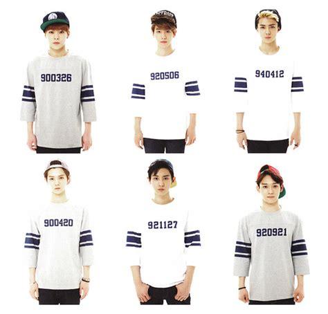 Exo Sehun Custom Kaos Unisex Popular Half And Half Football Jerseys Buy Cheap Half And