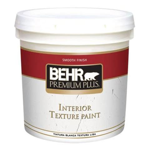 home depot paint finishes behr premium plus 2 gal smooth finish flat interior