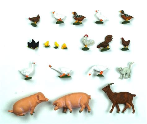 figuras geometricas de animales figuras animales de granja preiser 1 43