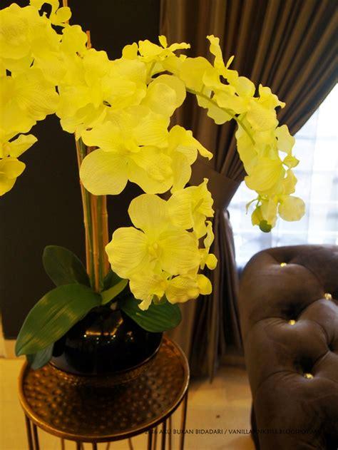Cantik Serba Guna Uk Besar aku bukan bidadari buatsendiri gubah bunga orkid simple tapi cantik dengan kos minima