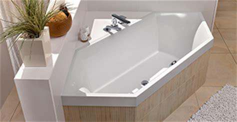 badewannen sechseck badewannen villeroy boch vielfalt an formen