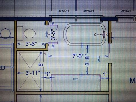 8 x 5 bathroom layout master bath layout help please