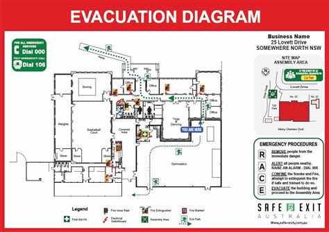 How To Draw An Evacuation Floor Plan Elegant Emergency Exit Floor Plan Template Flooring Ideas Evacuation Floor Plan Template
