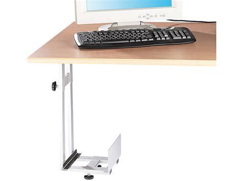 Schublade Unter Schreibtischplatte by General Office Platzsparende Pc Halterung F 252 R Untertisch