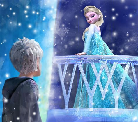 film frozen 2 elsa and jack jack frost and elsa snow queen otp by thewinterhope on