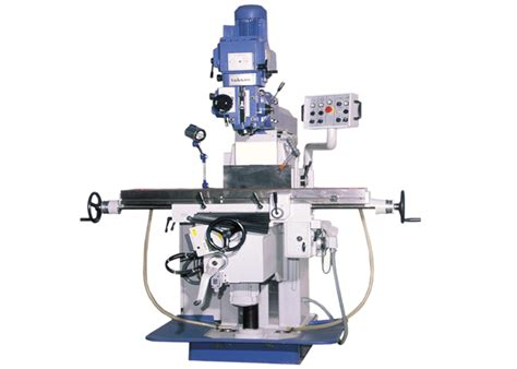 Tkf 260 V Tool Room Milling Machine With Vertical Spindle