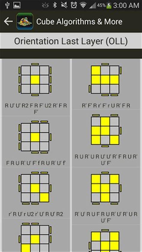3x3 Rubik S Cube Tutorial Short Algorithms Layer | rubik s cube algorithms timer app for android