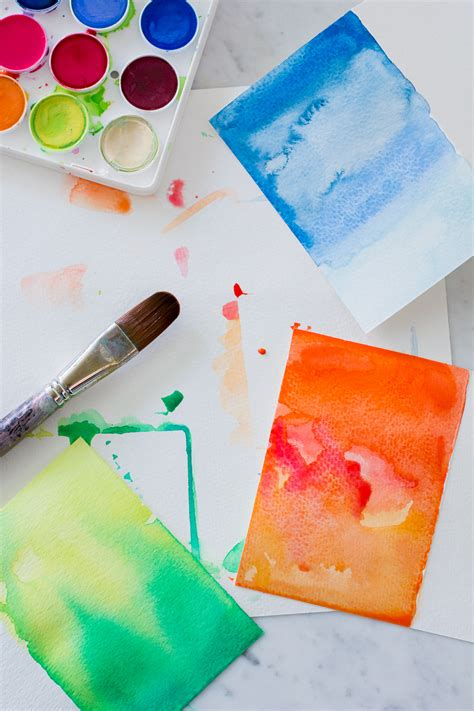 watercolour cards diy diy watercolor greeting cards wandeleur