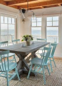 Beachy Dining Room Tables by 25 Best Ideas About Painted Dining Chairs On Pinterest