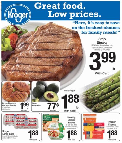 kroger weekly deals and coupon matchups feb 5th 11th kroger weekly deals and coupon matchups jan 29th feb