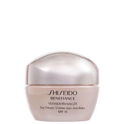 Benefiance Wrinkle Resist 24 Day Spf 15 50ml shiseido benefiance wrinkle resist 24 day spf 15