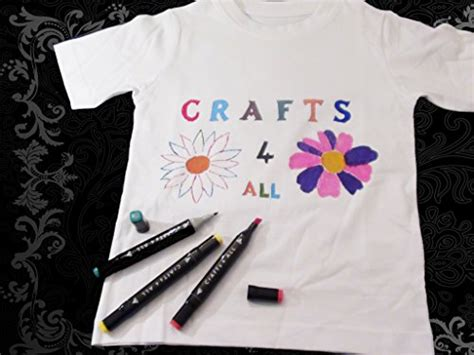 Decorating T Shirts With Fabric Markers by Fabric Pens Markers Painting Permanent 12 Pack T Shirts