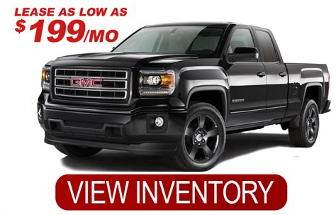 2016 gmc special elevation edition 249 lease