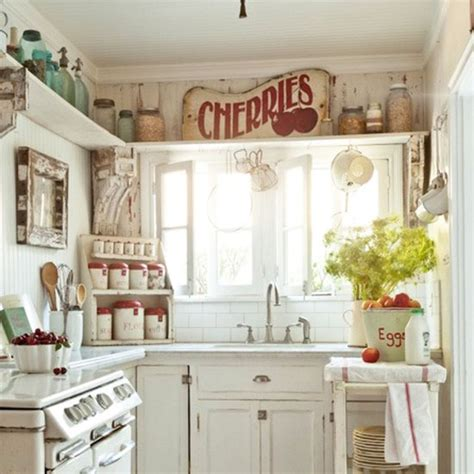 Kitchen Decor Ideas For Small Kitchens Beautiful Abodes Small Kitchen Loads Of Character