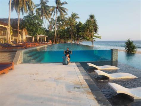 katamaran hotel resort senggigi pool side of katamaran resort lombok picture of