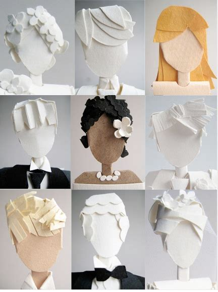 How To Make Paper Cupcake Toppers - let them eat cake at your wedding paper cake toppers