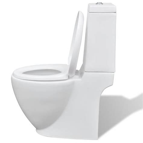 wc keramik der keramik wc toilette rund wei 223 shop vidaxl de