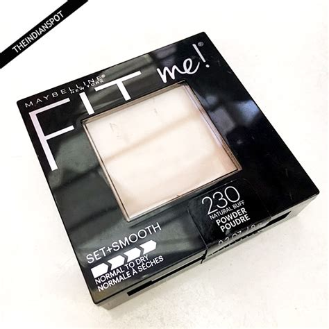 Maybelline Fit Me Powder maybelline fit me pressed powder 230 buff review