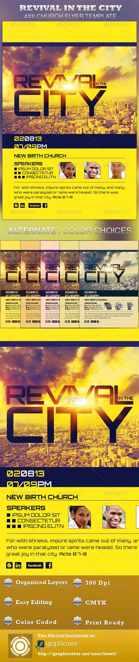 flyer template holy revival church free revival flyer template party invitations ideas