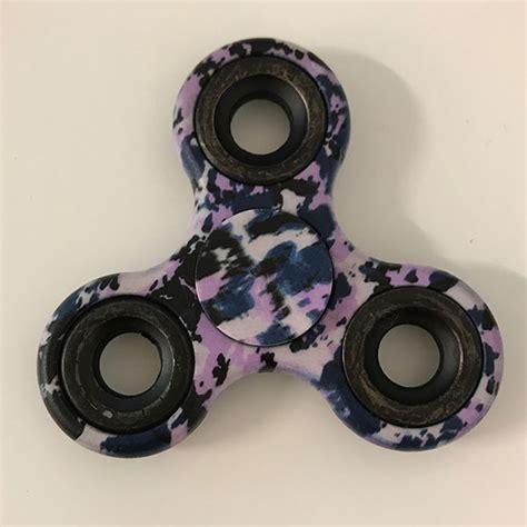 Fidget Spinner Army Lu Led Spinner Led purple army camo tri fidget spinner fidget spinner uk