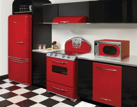 Designed Kitchen Appliances 20 Modern Kitchens With Cool Retro Appliances