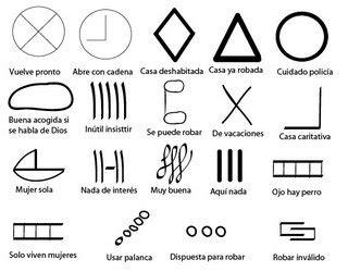 decorar significado en portugues bulo se 241 ales usadas por ladrones para marcar casas y pisos