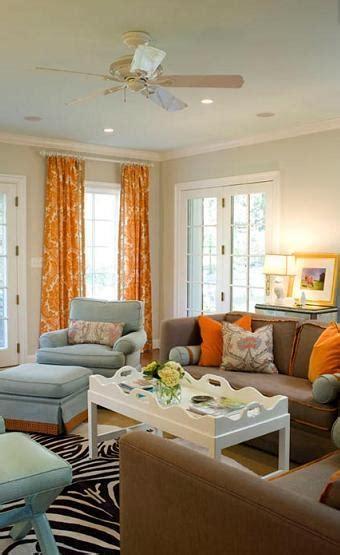 jodie carter design complimentary orange blue