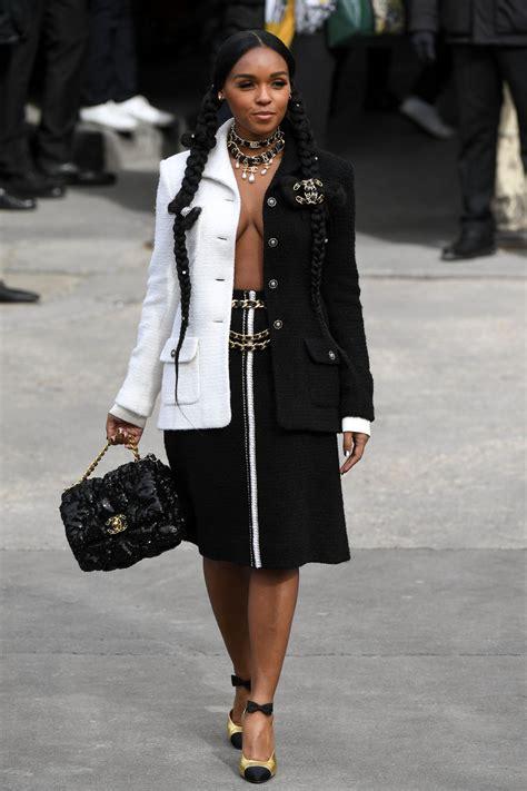 janelle monae chanel show  paris fashion week