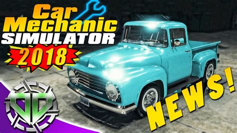 cars mechanic simulator 2018 car mechanic simulator 2018 news cars features