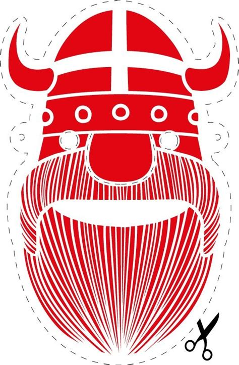 printable viking mask viking printable for the kids vikings printable