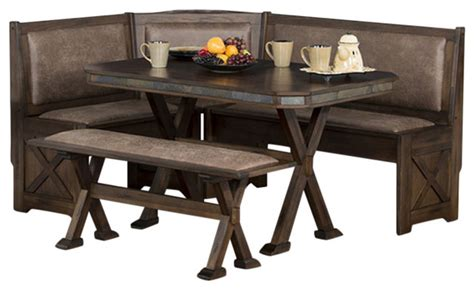 designs inc breakfast nook set dining sets houzz