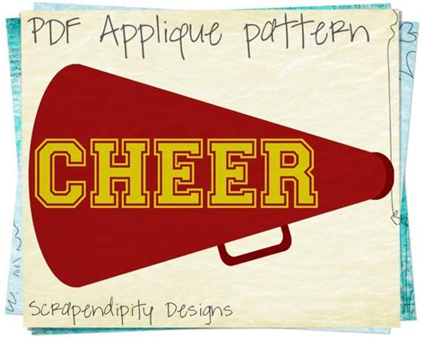 cheer megaphone template free coloring pages of megaphone template