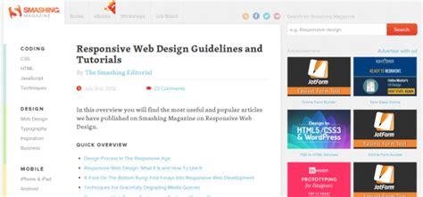 responsive website tutorial and exles responsive design tutorial web3canvas