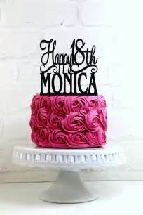 happy  birthday cake topper personalized    age  weddbook