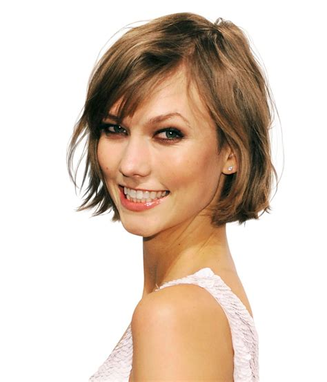 chin lenght bob teens karlie kloss breathe new life into fine hair with a chin
