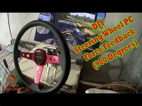 Harga Diy Steering Wheel Arduino by Diy How To Make Steering Wheel Pc Feedback 900